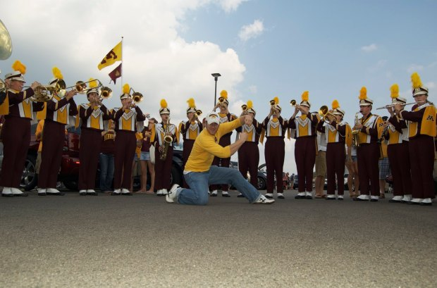 Hail to Minnesota (photo credit JT Haines, of brother Tom)