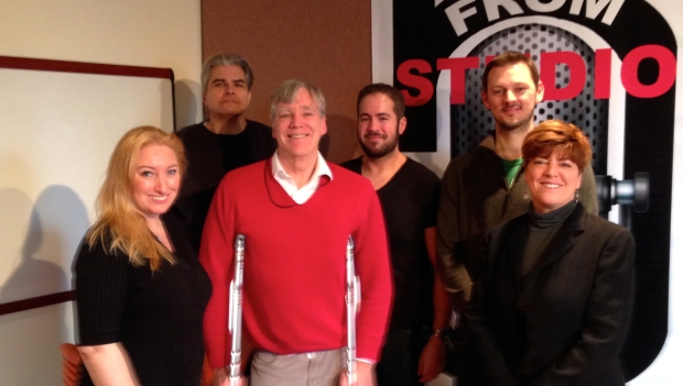January 26, 2015, at KFAI studios with TruthtoTell